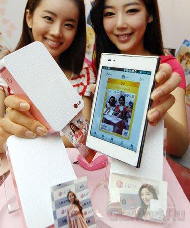 Карманный принтер LG Pocket Photo
