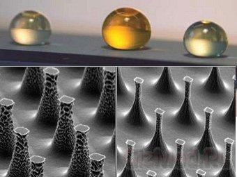 Ученые создали несмачиваемую поверхность