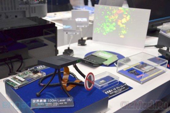 Самый тонкий в мире модуль для лазерного проектора