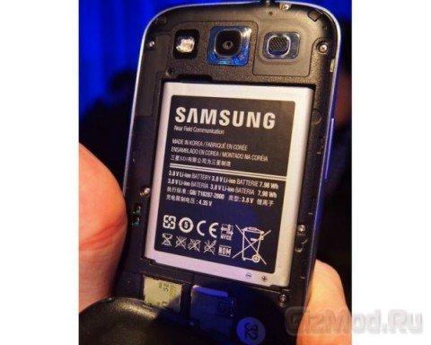 Galaxy S III - ����� ����������� � ������ �������