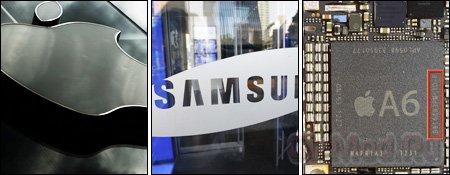 Apple ������������ �� ������������ Samsung