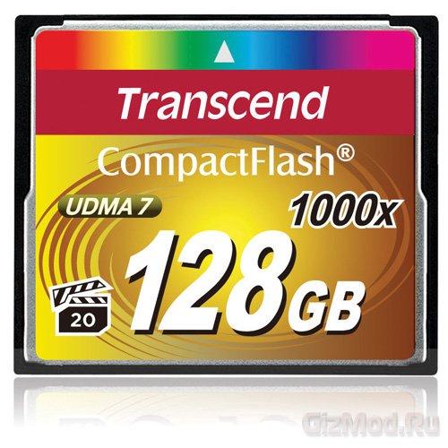 Transcend ��������� ����� ������ 1000x CompactFlash