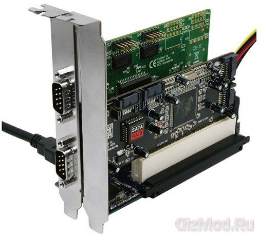��� ����� PCI ������ Express x1� ������ Area SD-PECPCiRi