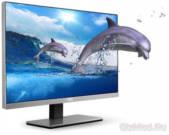 Full HD IPS-мониторы без рамки от AOC