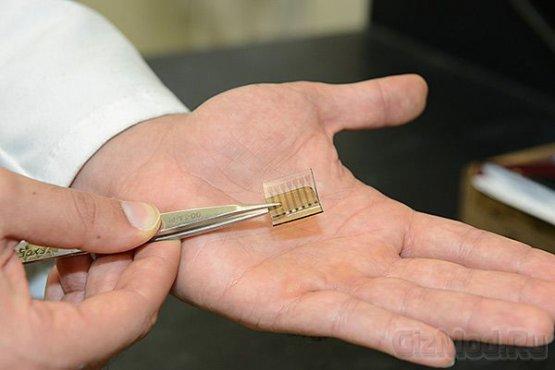 Фотоэлемент из углеродных нанотрубок