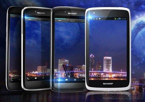 Sharp привезла FullHD Aquos Phone SH930W в Россию