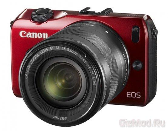 Canon EOS M на следующей неделе в продаже