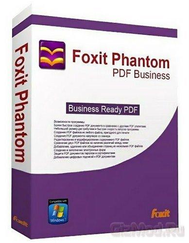 Foxit PhantomPDF 5.4.3.1106 - все что нужно для PDF
