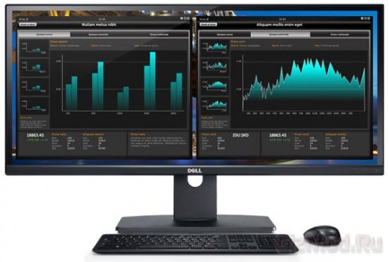 IPS-монитор 21:9 Dell UltraSharp U2913WM