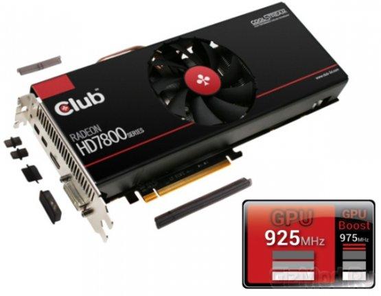 ������ ����� Radeon �� GPU Tahiti LE