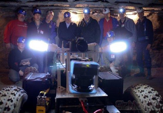 Cave Crawler готовят к покорению пещер на Луне
