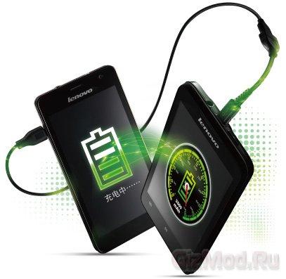 Смартфон Lenovo P770 с очень емкой батареей