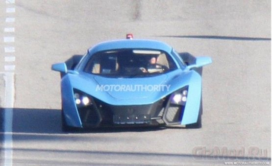 Marussia B2 на шпионских фото