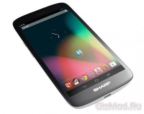 SHARP Aquos Phone SH930W - обзор