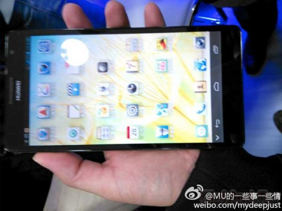 Huawei Ascend Mate показали журналистам