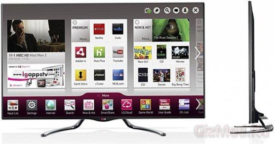 Подробности о линейке телевизоров Google TV 2013 года