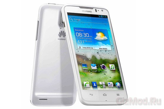 ���� �� �������� Huawei Ascend D2