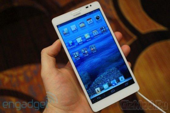 """6,1"""" смартфон Huawei Ascend Mate официально"""
