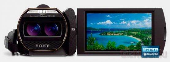 3D-�������� � ���������� Sony Handycam HDR-TD30V