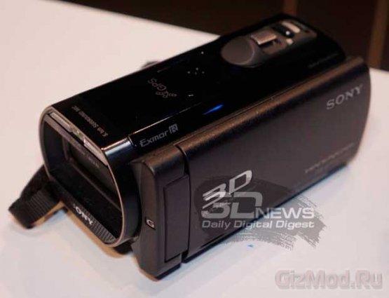 3D-камкодер с проектором Sony Handycam HDR-TD30V