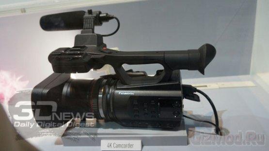 Panasonic показала прототип UHD-видеокамеры