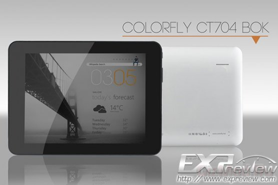 Самый доступный планшет Colorful Colorfly CT704 BOK