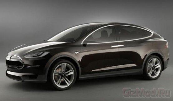 ������������� SUV � ���������� Tesla