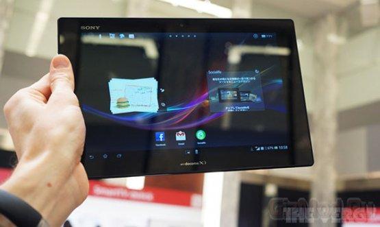 Самый тонкий в мире планшет — Xperia Tablet Z от Sony