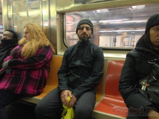 Google Glass замечены в нью-йоркском метро