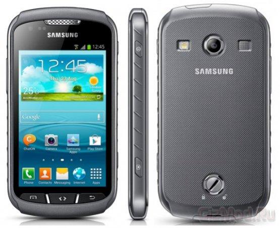 Galaxy Xcover 2 не боится влаги