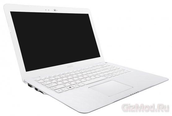 """Доступный 13,3"""" тонкий ноутбук MSI S30"""