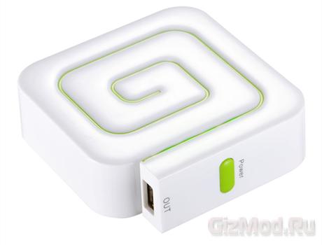 Ультрамобильная зарядка Gigabyte OTG G66A1