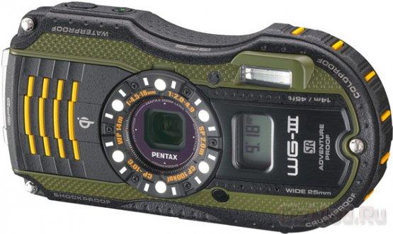 """""""Внедорожные"""" камеры Pentax WG-3 и WG-3 GPS"""