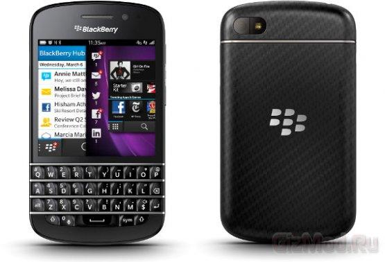 ����������� ����� BlackBerry 10 � ���������� Z10 � Q10