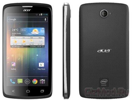 Смартфон Acer Liquid C1 на процессоре Intel Atom