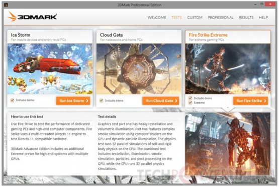 Обновленный Futuremark 3DMark совместим с Windows 8