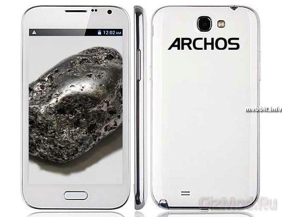Archos выходит на рынок смартфонов с тремя моделями