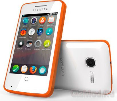 Alcatel One Touch Fire - смартфон на Firefox Mobile OS
