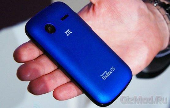 ZTE представила смартфон Open на базе Firefox OS
