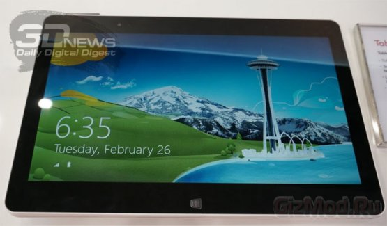 Ноутбук-трансформер LG Tab-Book LTE на MWC 2013