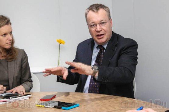 Стивен Элоп обещает еще много продуктов Nokia