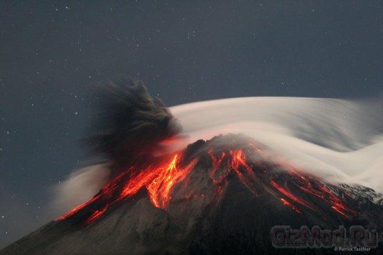 Извержение вулканов сдерживает потепление