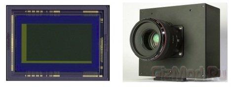 Новый ультрачувствительный сенсор Canon