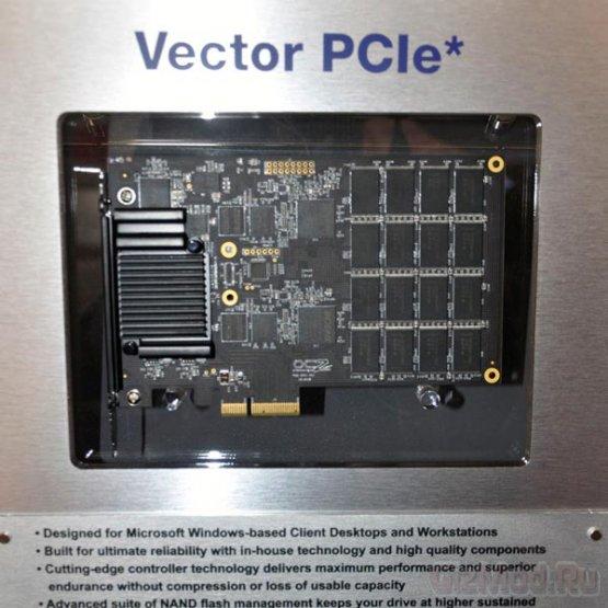 Скорость чтения SSD OCZ Vector достигает 930 МБ/с