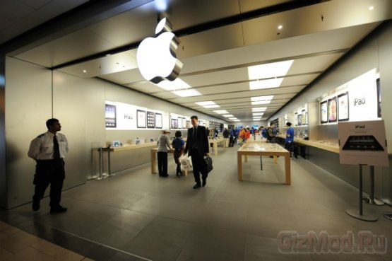 ����� ������ �������� ����� �������� Apple Store