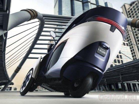 Toyota i-ROAD концептуальный сити-кар