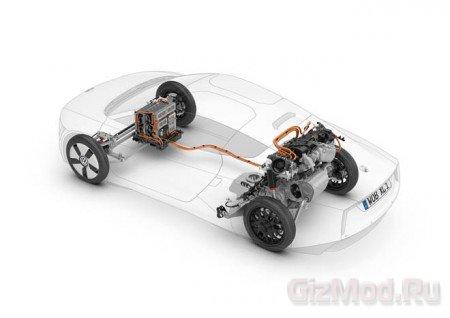 Гибридный Volkswagen XL1 дебюдировал в Женеве