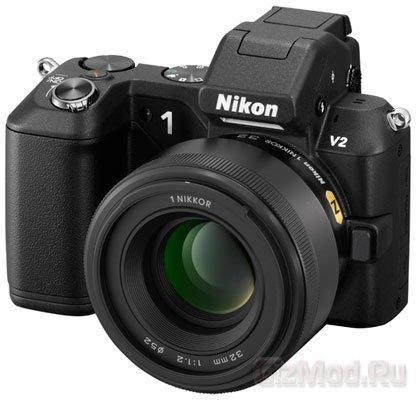 Nikon выпустит объектив 1 Nikkor 32mm f/1.2