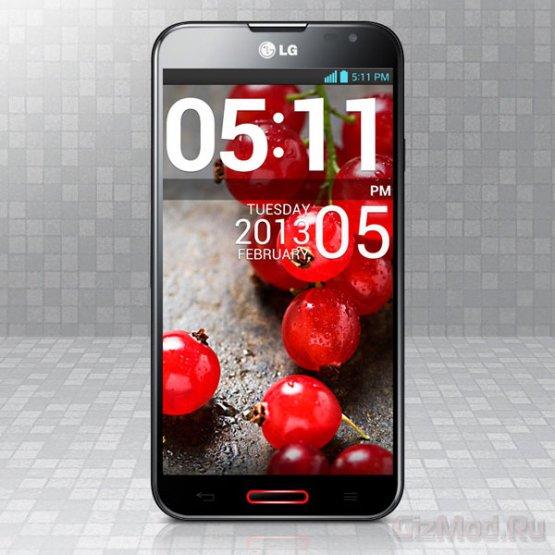 LG Optimus G Pro сможет следить за глазами