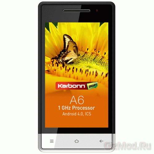 IPS-дисплей в смартфоне Karbonn A6 за $100